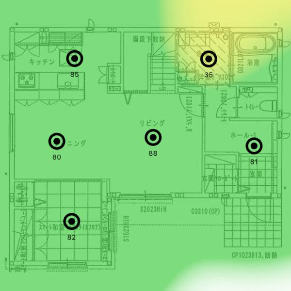 ヒートマップ_1F_5GHz