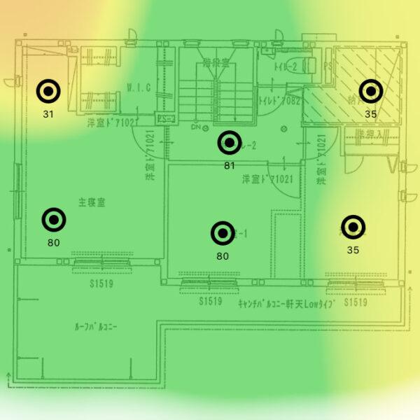 ヒートマップ_2F_5Ghz